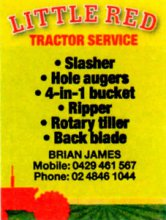 Little Red Tractor - Brian James